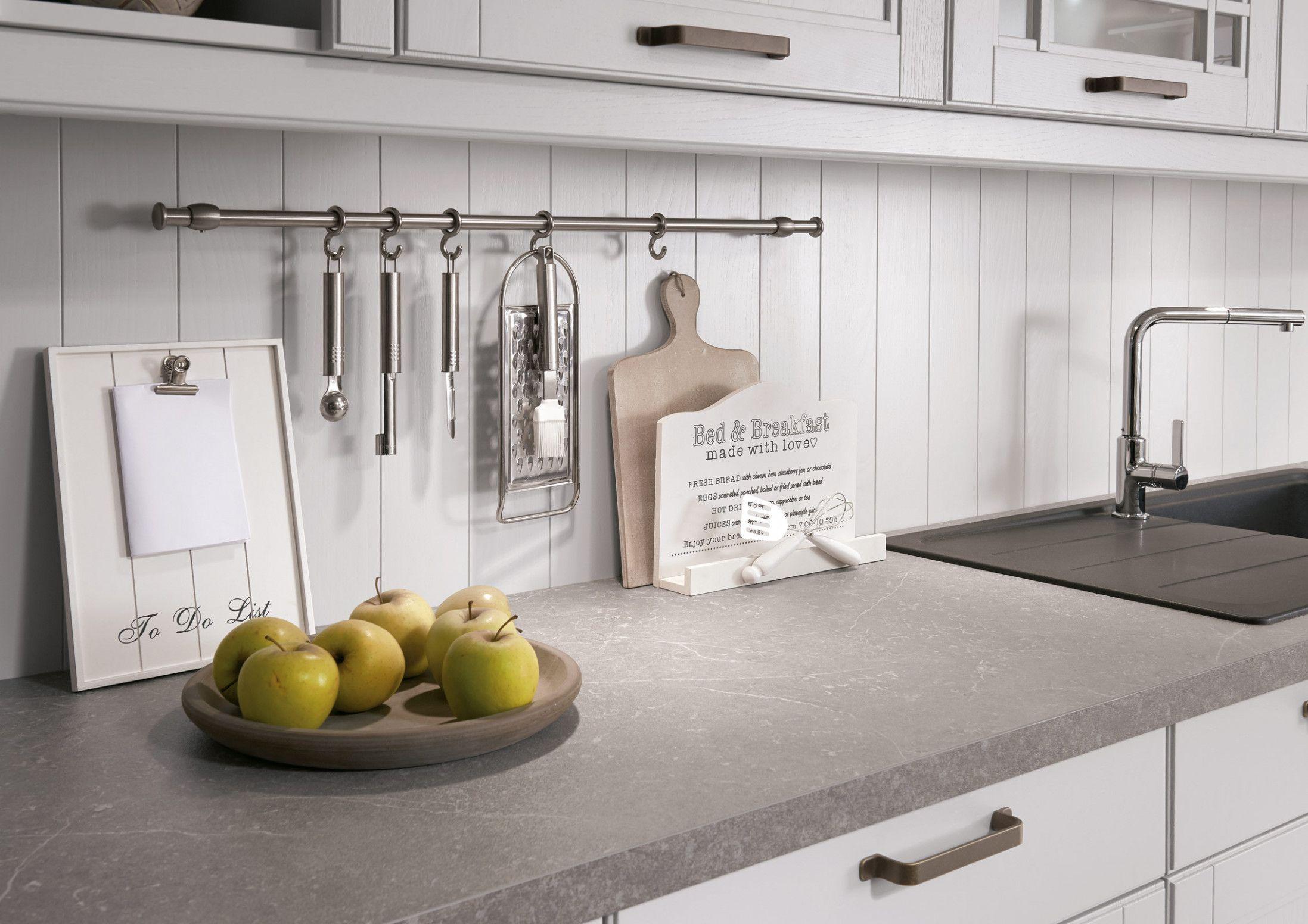 Landhauskuche Graue Arbeitsplatte Haus Kuchen Nobilia Kuchen Arbeitsplatte
