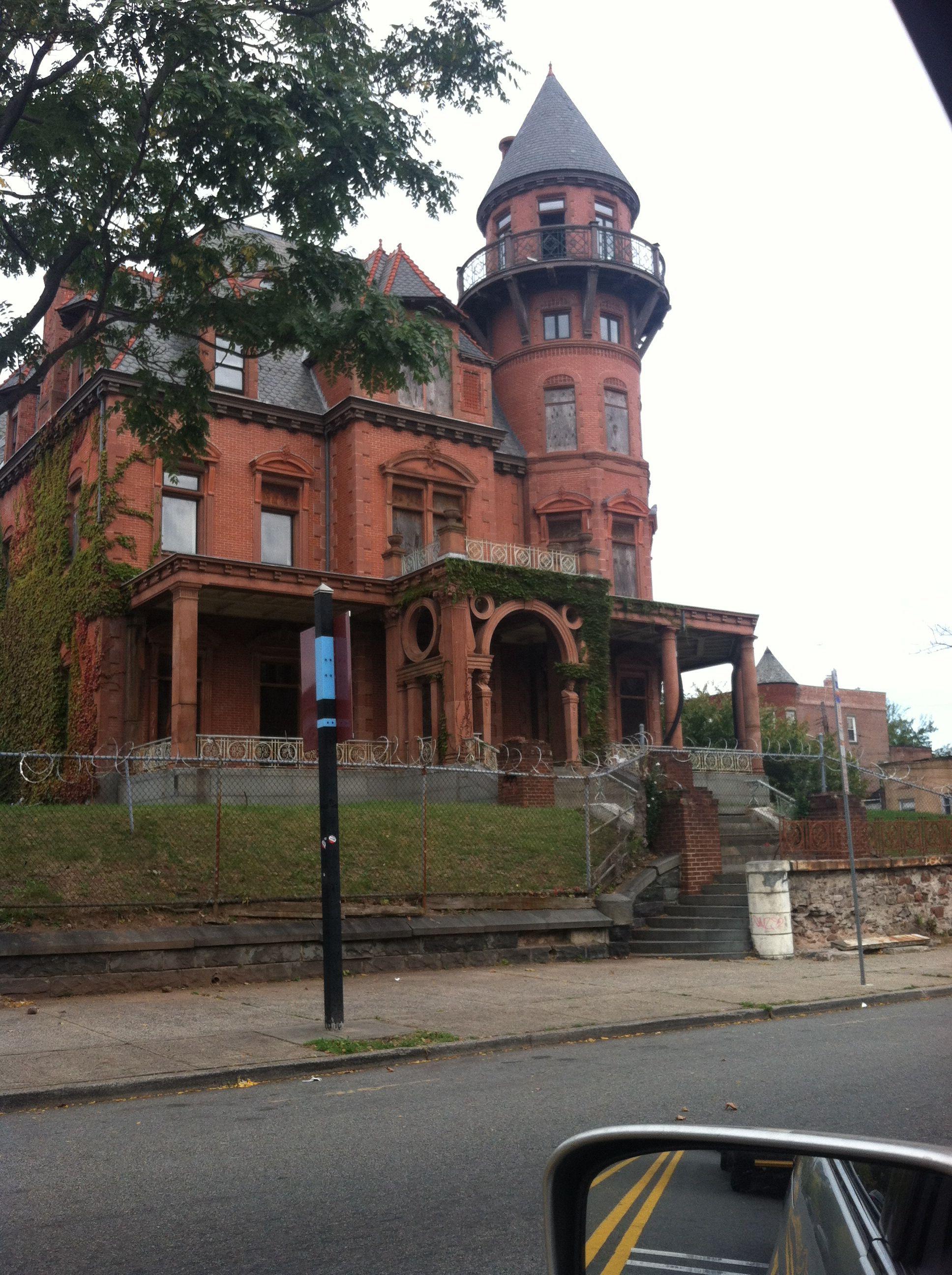 Abandoned Property Newark Nj Usa Old Abandoned Buildings