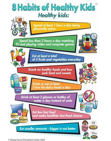 healthy habits kid friendly foods pinterest