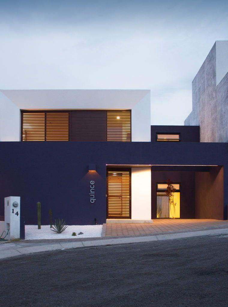 Arquitectura Fachadas De Casas Modernas Casas Modernas: Fachada Principal Casas Minimalistas De Región 4 Arquitectura Minimalista