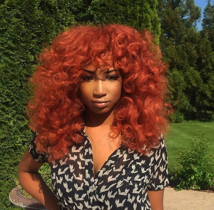 Pinterest Chantieex Instagram Chantiee T Snapchat Chashleigh It Would Be Great If You Give Me Credit Hair Color Orange Burnt Orange Hair Hair Styles