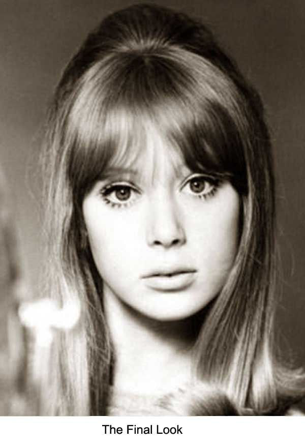 1960 S Hairstyles For Long Hair Pattie Boyd Glamour Daze 1960s Hair Hairstyle Pattie Boyd