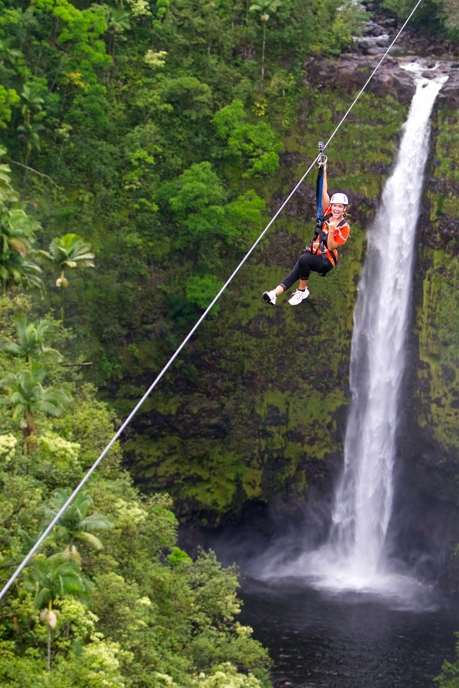 Big Island Zipline Tour in Akaka Falls, Hawaii - Zipline