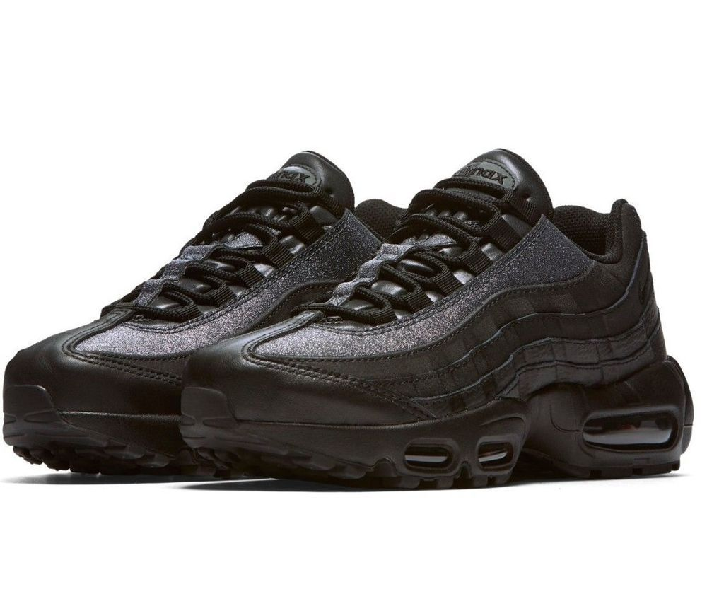 reputable site b0b9a 12ad3 Womens NEW Nike Air Max 95 SE Glitter Sneaker Shoes Black AT0068-001  fashion clothing shoes accessories womensshoes athleticshoes (ebay  link)