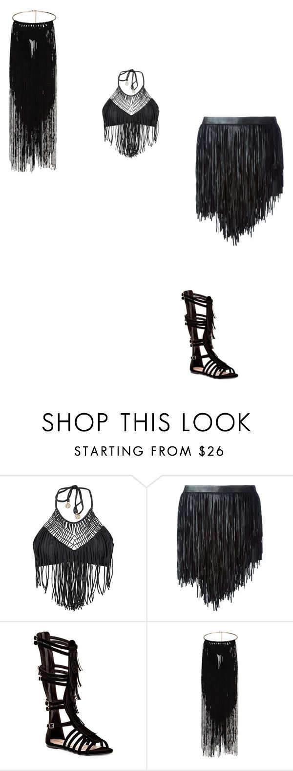 """""""Untitled #312"""" by kei-mao on Polyvore featuring Luli Fama, Yves Saint Laurent and Top Guy"""