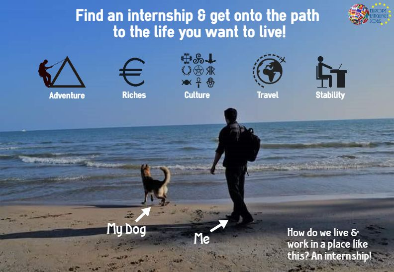 How can you find an internship in Europe? Let me show you