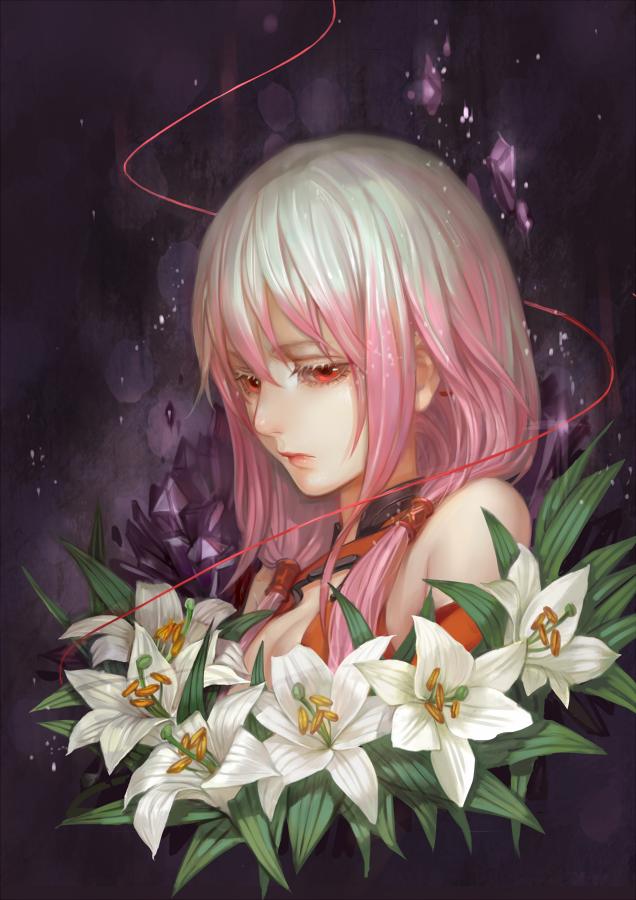 Лилии картинки аниме