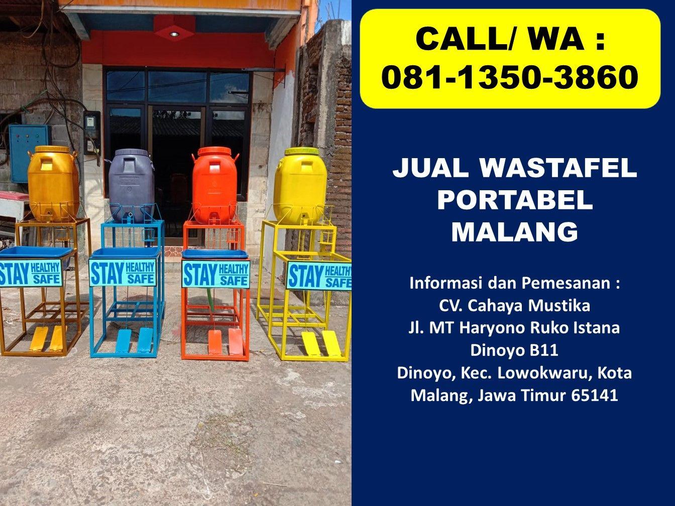 Promo Call Wa 081 1350 3860 Harga Wastafel Portable Malang Ruko Istana Telepon