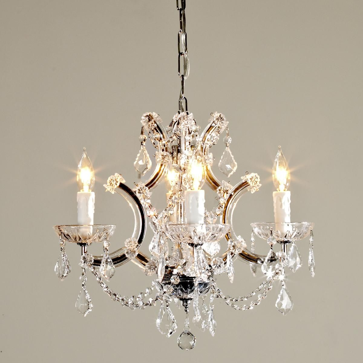 Round Crystal Chandelier Cute But It Says Mini Size Would That