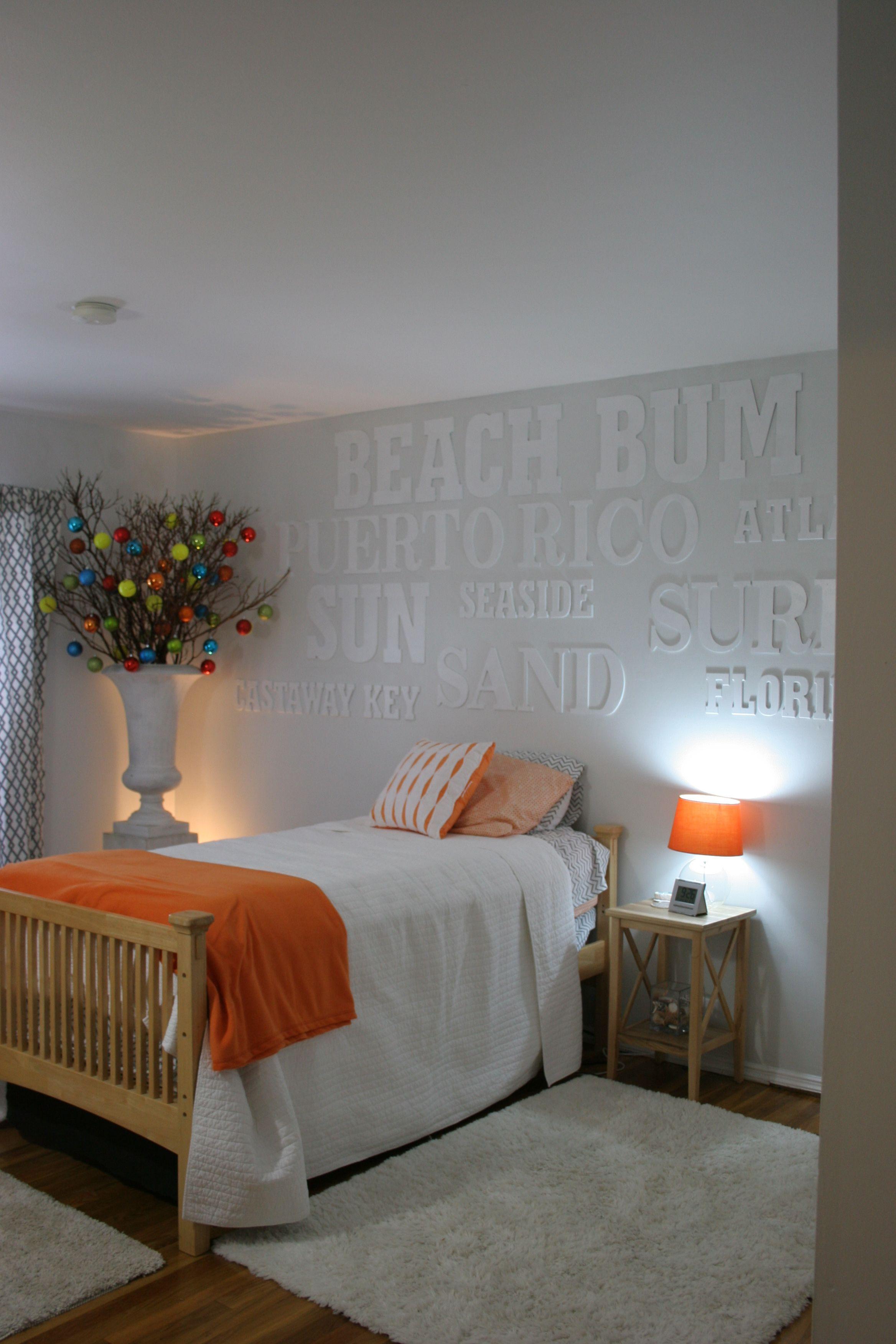 teen boy bedroom contemporary christmas decor