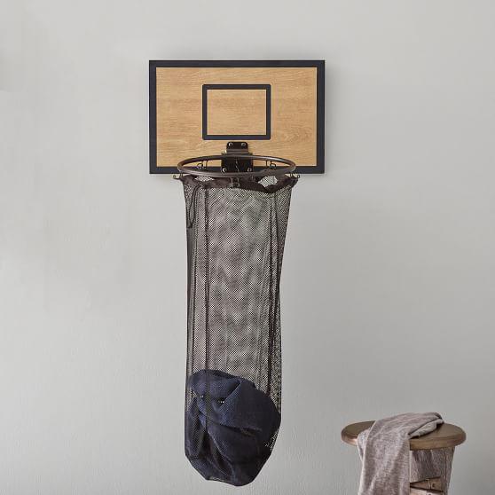 Basketball Hoop Over The Door Hamper