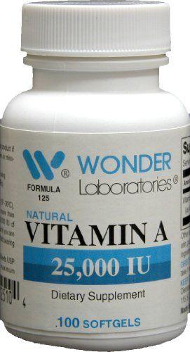 Vitamin a 25000 Iu 100 Softgels 1253 * Visit the affiliate ...