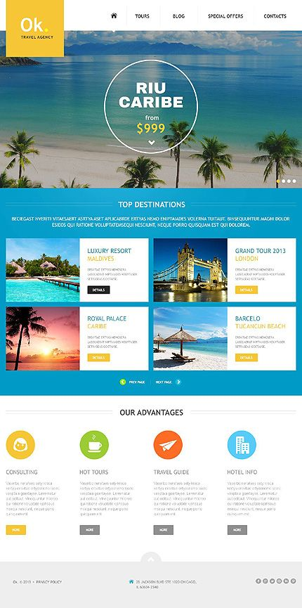 Travel company joomla template template website designs and ui joomla template 45159 by delta pronofoot35fo Image collections