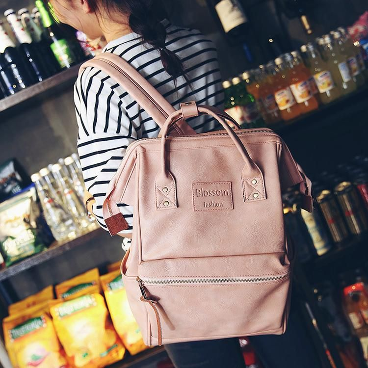🏷Korean style shoulder bag laptop backpack 👉Fashion Multifunction women  backpack 👉Fashion youth Korean style shoulder backpack 👉School bags for  teenage ... 71b3b2e2cceea