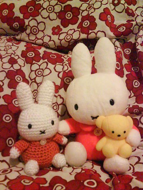 Amigurumi Miffy Bunny - FREE Crochet Pattern / Tutorial | FREE ...