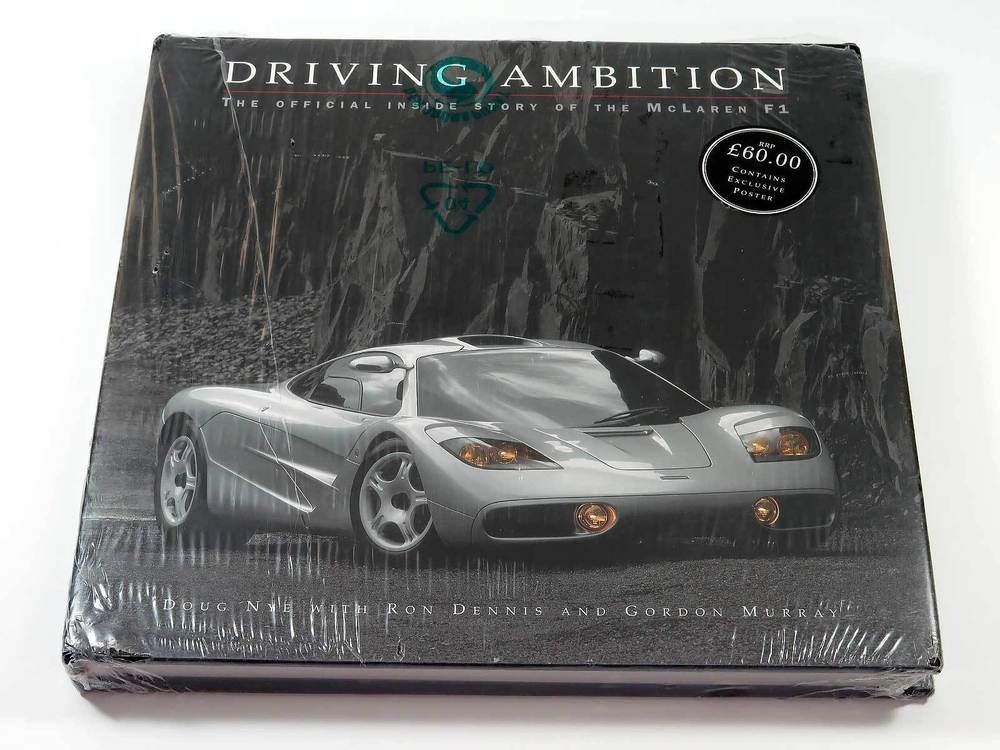 Driving Ambition The Official Inside Story Of The Mclaren F1 Road Car Book 2000 Ebay Link Mclaren F1 Mclaren Advertising Collectibles