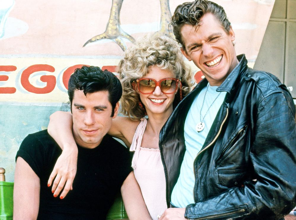 Grease Danny Sandy And Kinicky Avec Images Film Musical