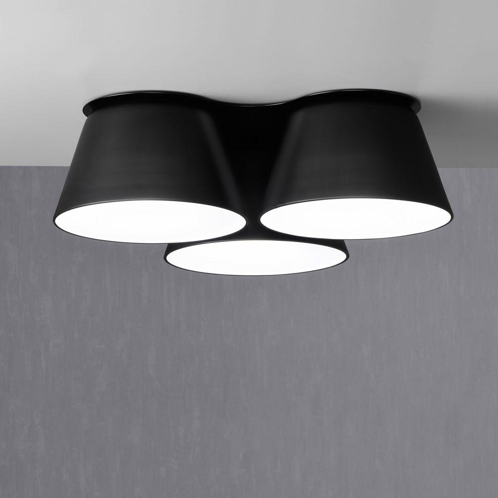 Moderne Deckenleuchte Aus Spanischer Manufaktur Mit 50 Cm Oder 70 Cm Durchmesser Die Leuchte Wird In Glanzend Weiss Ma In 2020 Beleuchtung Decke Deckenleuchten Modern