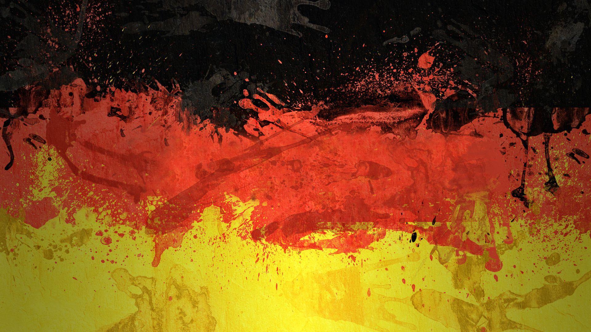 German Flag Hd Wallpaper 1920x1080 Flag Art Germany Flag Art Wallpaper