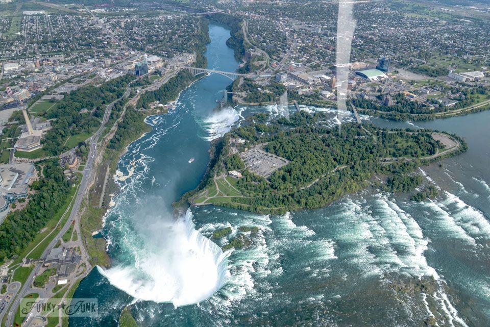 A Bird S Eye View Of Magnificent Niagara Falls Birds Eye