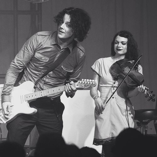 Jack white and Lillie Mae