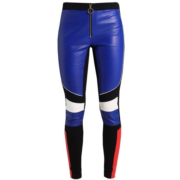 c83e2b22854 Tommy Hilfiger GIGI HADID SPEED PANT Leather trousers ( 565) ❤ liked on Polyvore  featuring pants