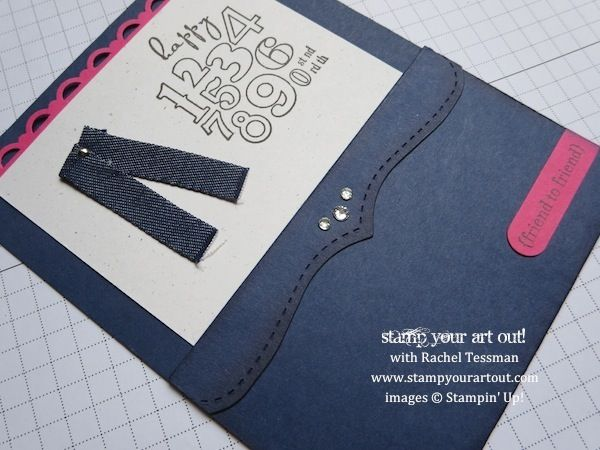 Stampin' Up!® Jeans Bring On The Cake birthday card - Stamp Your Art Out!