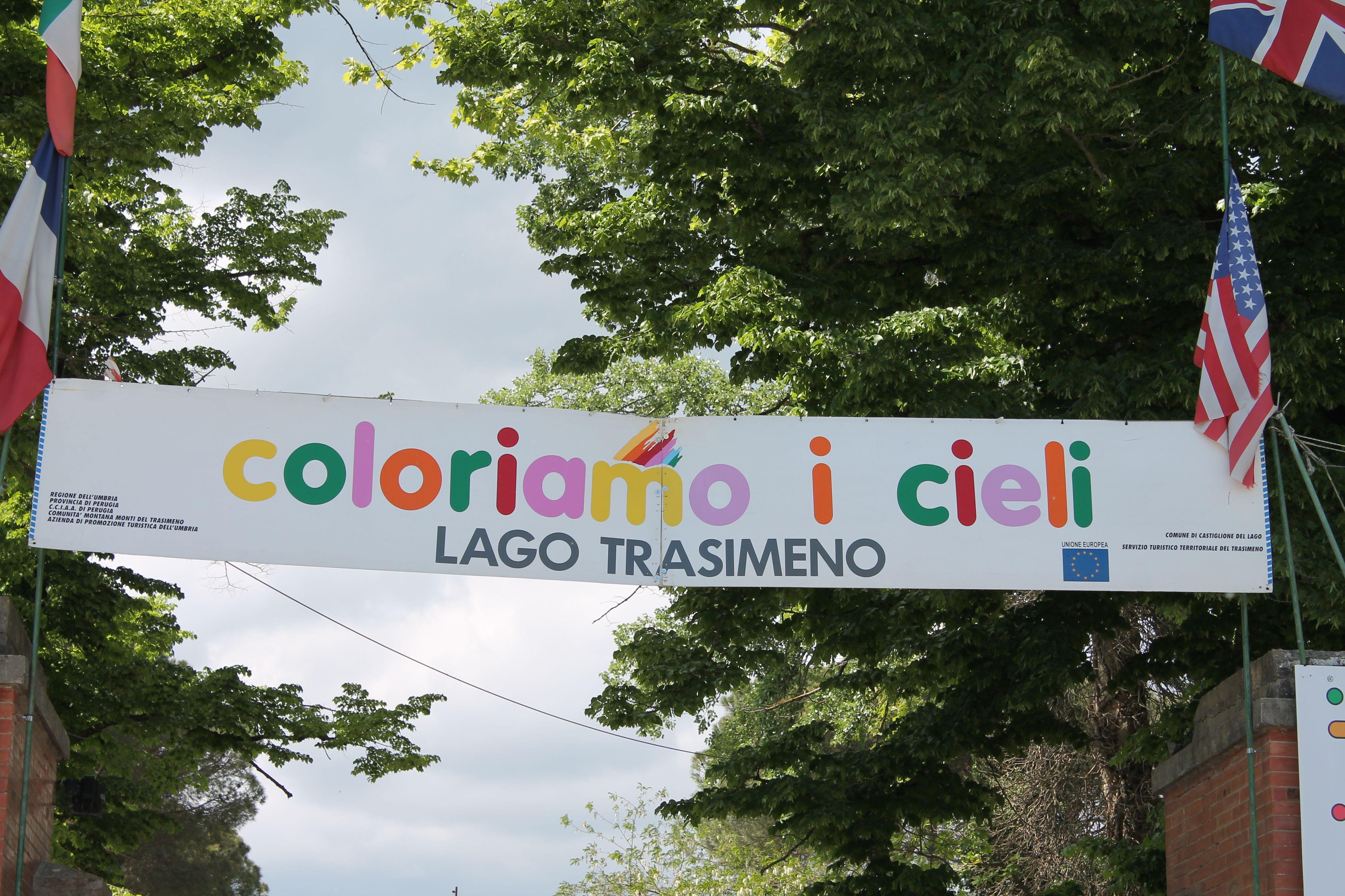 Coloriamo i Cieli 2017, Castiglione del Lago, Umbria, Italia