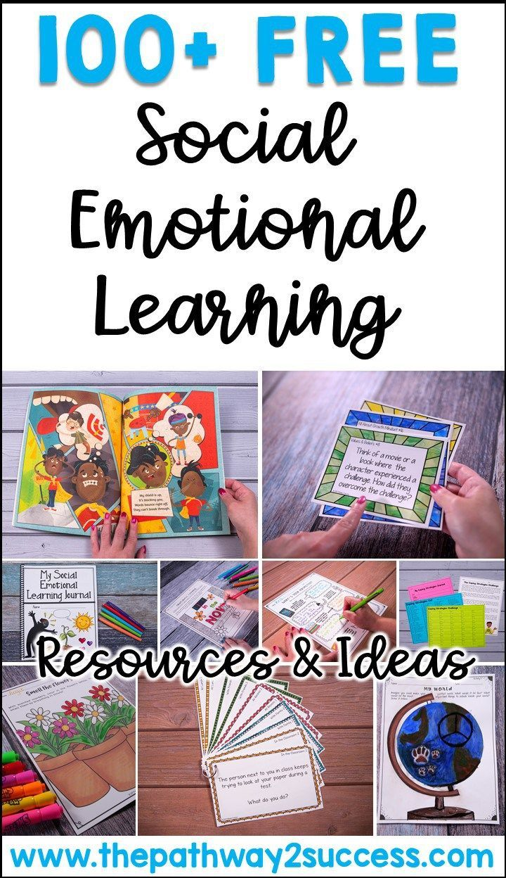 100+ Free Social Emotional Learning Resources Social