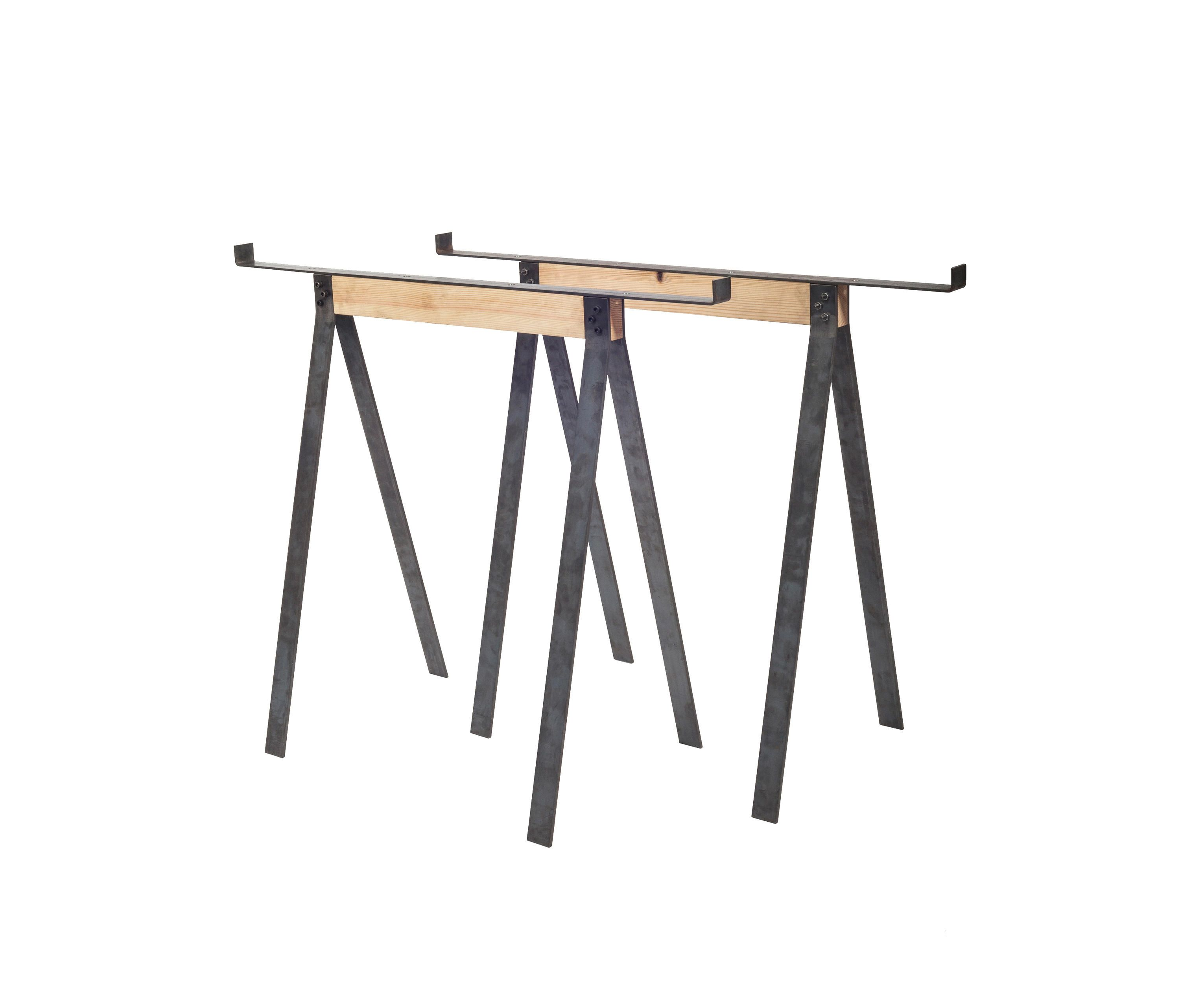 The Trestles From Frama In Two Lengths   56cm And 86cm   Are Fitting Both A