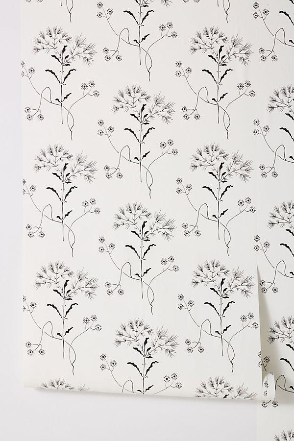 Magnolia Home Wildflower Wallpaper Farmhouse wallpaper