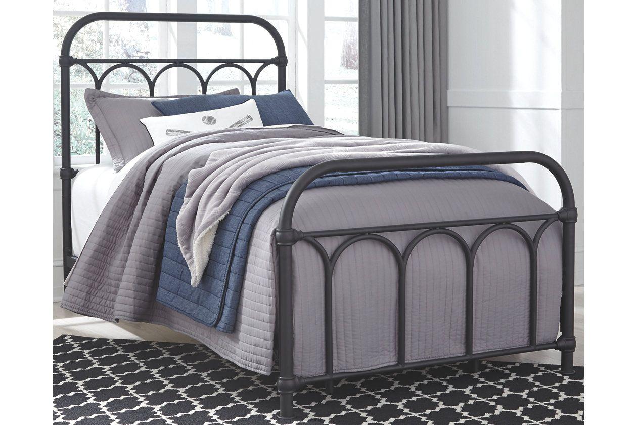 Nashburg Twin Metal Bed Ashley Furniture Homestore In 2019