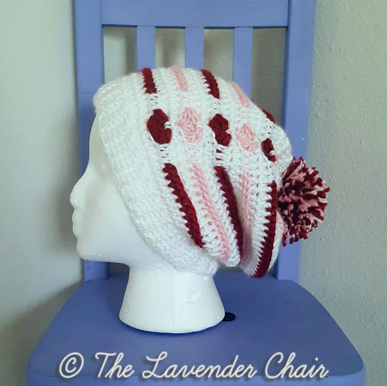 Love Me Tender Slouchy Beanie Crochet Pattern | Adornos para el pelo ...