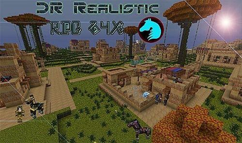 Minecraft 1 5 2 1 6 Dr Realistic Texture Pack 64x Texture