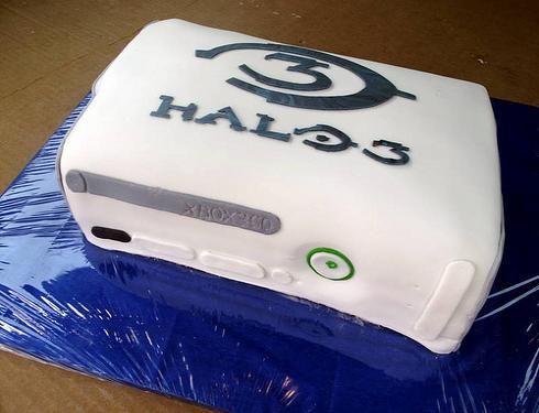 xboxhalocake Cake decor Pinterest Halo cake Cake and