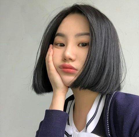 Pin By Ilya Khoirunnisa On Ulzzang Asian Short Hair Short Hair Styles Ulzzang Short Hair