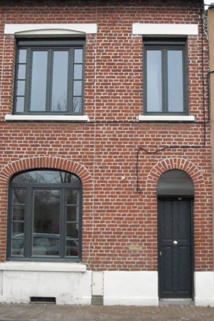 Couleur Façade Maison Ancienne cette maison de ville en brique rouge brille par son aspect