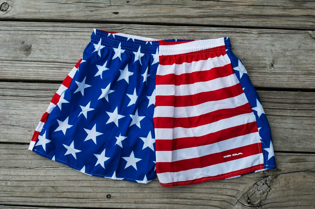 Goruck Built In The Usa Us Flag Shorts Running Shorts Men Running Shorts Mens Shorts