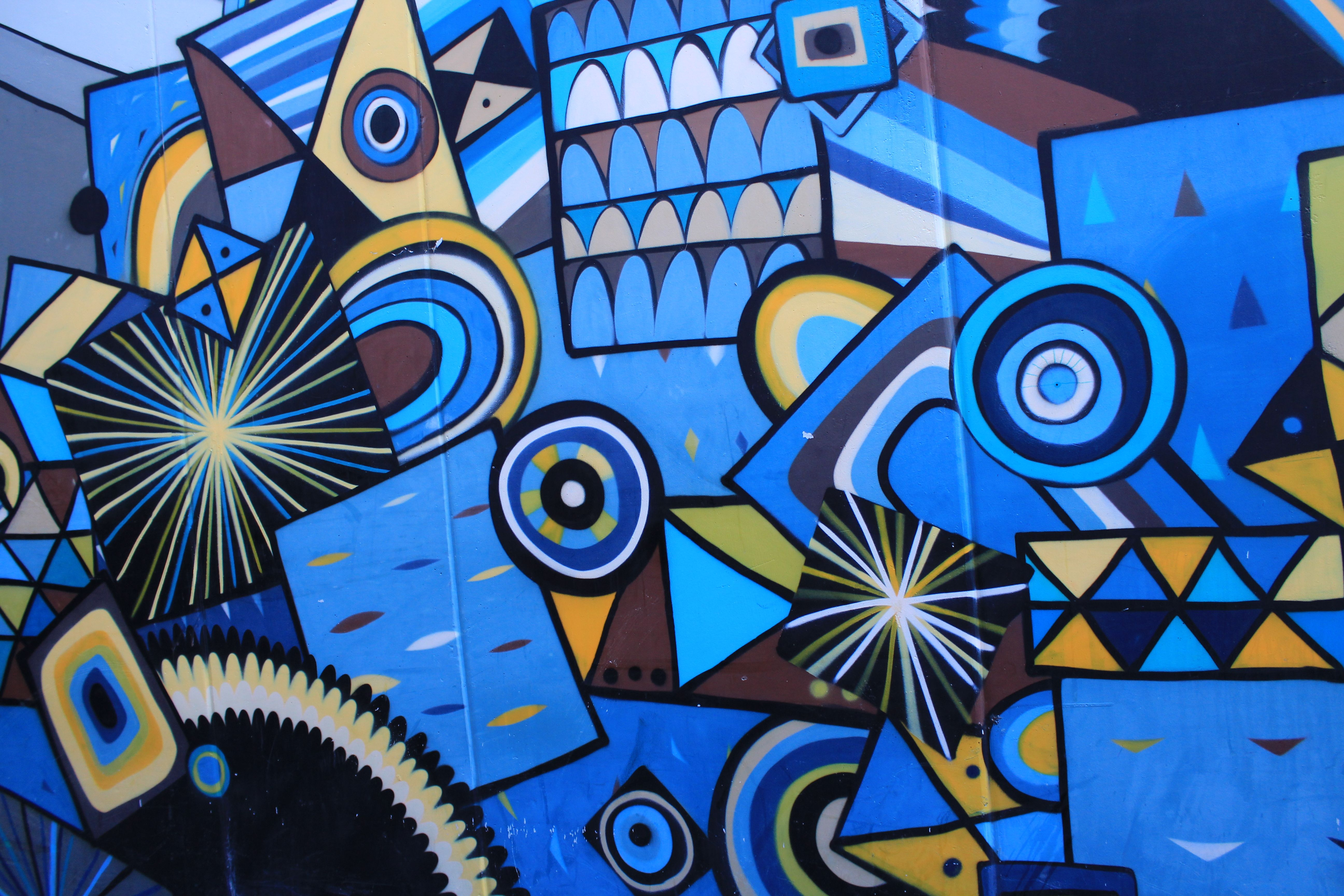 Street art in Perth. | Street art, Art, Abstract artwork