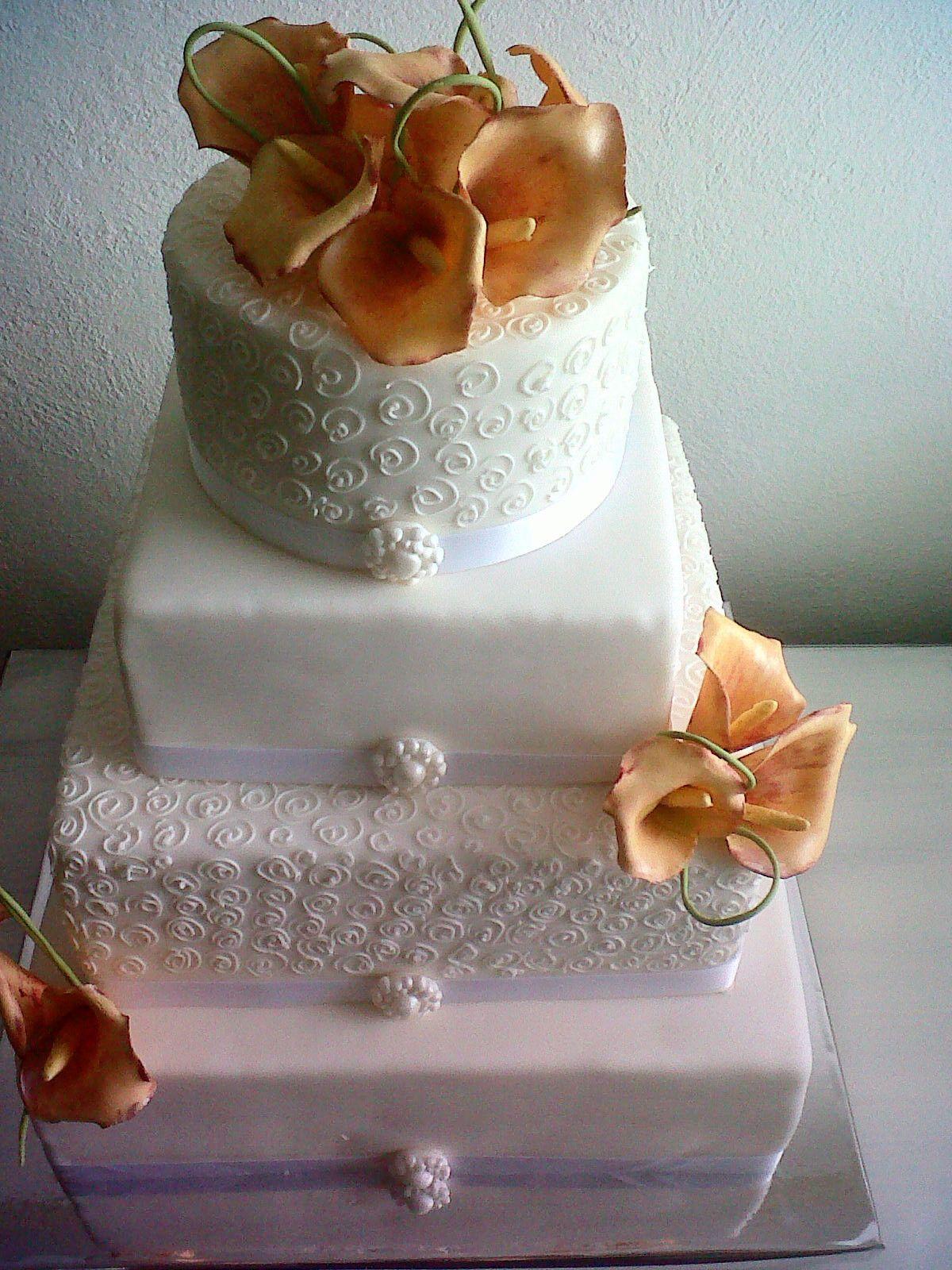 Eckige Hochzeitstorte Meine Torten Pinterest Cake Und Wedding