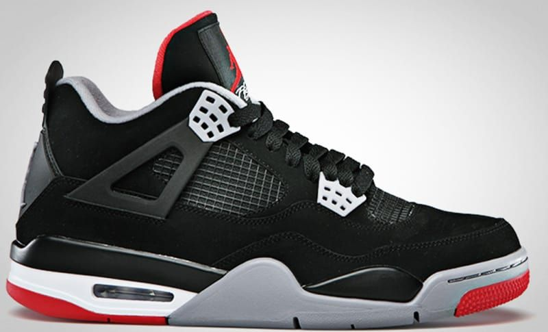 new product b5445 039b3 Air Jordan 4 Retro  Bred  - Air Jordan 4  The Definitive Guide to Colorways    Sole Collector
