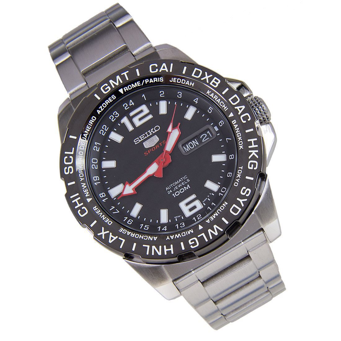 SRP685K1 SRP685 Seiko 5 Sports Automatic Watch Seiko 5