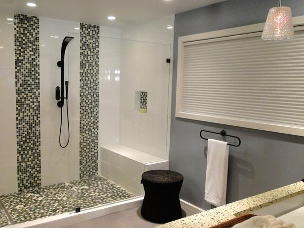 The 10 Best DIY Bathroom Projects: If You Have A Large Bathtub That Doesnu0027t  Get Used Much, Replace It With A Walk In Shower. Not Only Will It Look More  ...