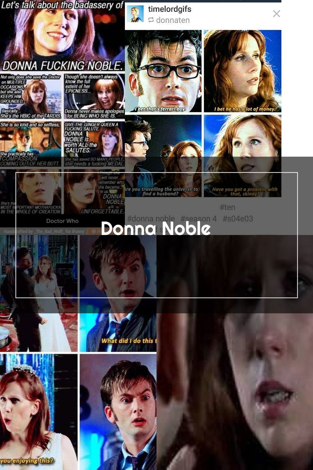 Pin On Donna Noble