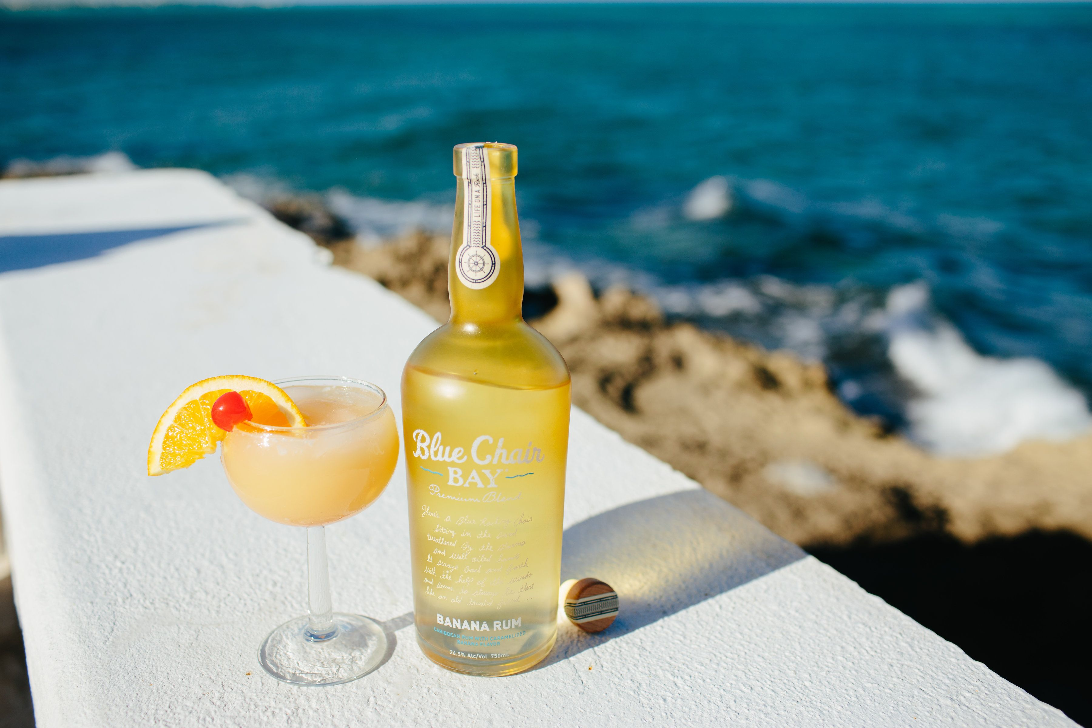 The Boozy Banana, made with Blue Chair Bay's Banana Rum 2