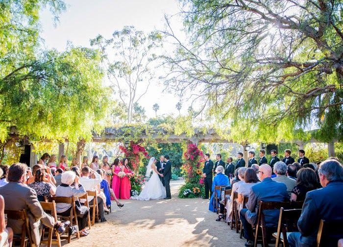 Soigne Productions Santa Barbara Wedding Planner Historical Museum Casa Covarrubias Courntayrd