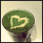 Sheila Petersen #healthcoach #greendrink #valentinesday