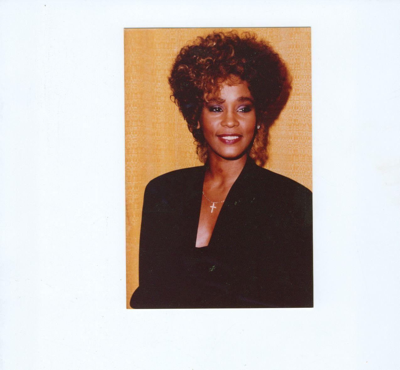 Vintage Whitney Houstin 4x6 Color Photograph