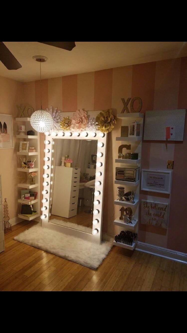 Pin By Melissa Davila On Home Vanity Room Glam Room