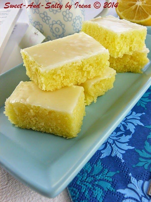 sweet-and-salty: Limun braunis / Lemon Brownies (20 cm )
